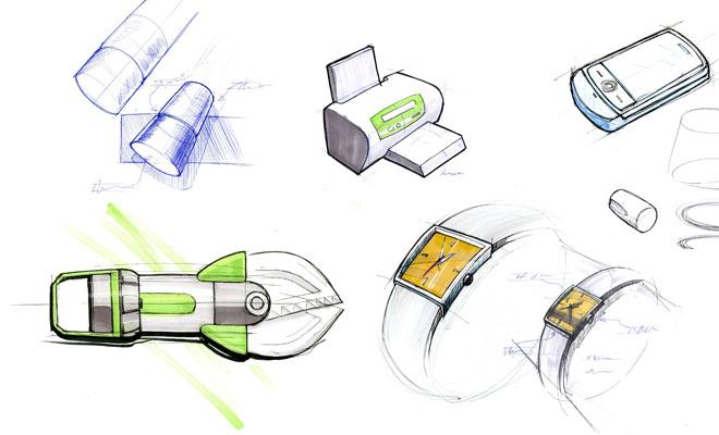 henry hiltner industrial design concept drawing